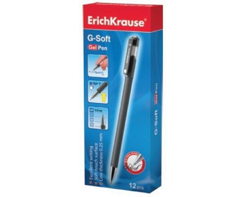 Ручка гелевая ErichKrause G-SOFT черная