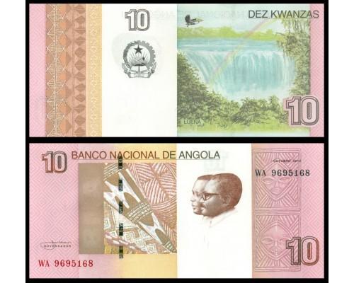 БЕЗ СКИДКИ Банкнота 10 кванза Ангола 2012 KR