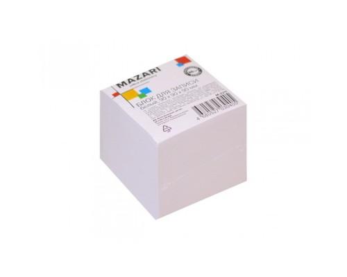 Блок бумажный для записей белый 9*9*9см