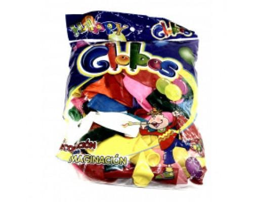 Воздушные шары 25 см в уп 100 шт цена за 1 шт.6513